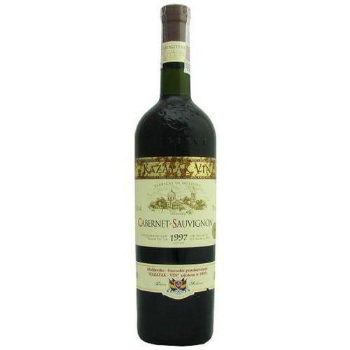 KAZAYAK 750ml Cabernet Sauvignon Wino mołdawskie czerwone półsłodkie (4840181001672)