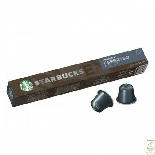 STARBUCKS Espresso Roast Nespresso 10 kapsułek (7630477891714)