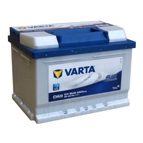 VARTA BLUE Dynamic D59 - 12V 60Ah 540A (EN) +P