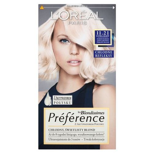 Feria Preference farba do włosów 11.21 Ultra-Light, L'Oreal Paris z Tagomago.pl