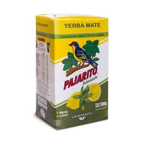 Yerba Mate Pajarito cytrynowo-miętowa (menta-limon), 140