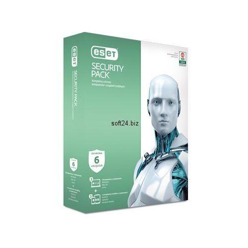 Eset security pack 1rok (3 komputery i 3 smarfony) przedłużenie