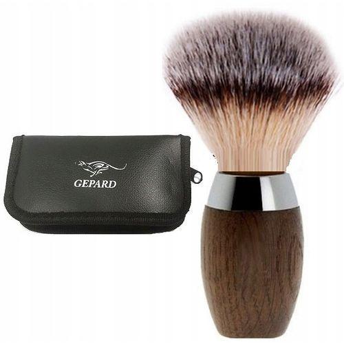 Pędzel do golenia z włosiem borsuka 100% etui p03 marki Gepard