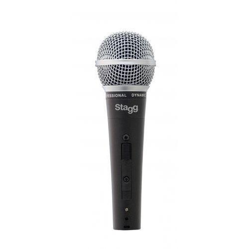 Stagg SDM 50 - mikrofon dynamiczny z wyłącznikiem