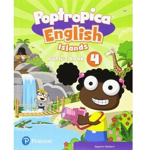 Poptropica English Islands 4. Pupils Book + Online World Access Code - książka