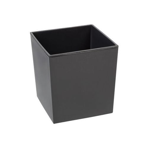 Chomik Doniczka plastikowa 30 x 30 cm antracytowa juka (5900119825530)