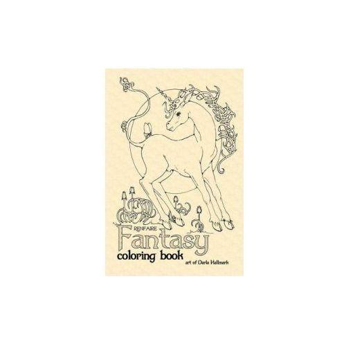 Renfaire Fantasy Coloring Book (9781365042478)