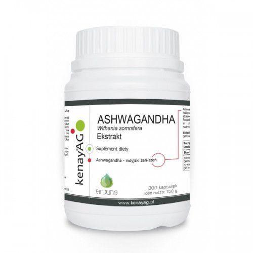 Ashwagandha 500 mg (300 kaps.) Arjuna Natural Extracts (5900672153095)