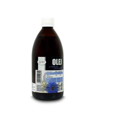 Olej z czarnuszki zimnotłoczony 500ml marki Vivio