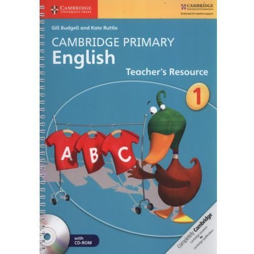 Cambridge Primary English Stage 1 Teacher's Resource Book with CD-ROM (196 str.)