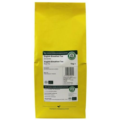 Herbata czarna english breakfast liściasta bio 1 kg lebensbaum marki Horeca - pozostałe