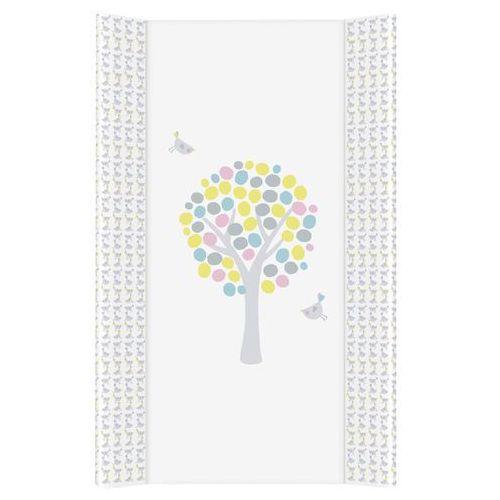 Mamo-tato przewijak na łóżeczko usztywniony 50x80 magiczne drzewa różowe