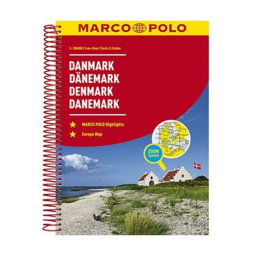 Denmark Marco Polo Road Atlas (9783829736824)