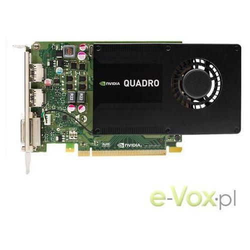 Karta graficzna PNY Technologies QuadroK2200 4GB GDDR5 (128bit) DVI-D, 2x DisplayPort (VCQK2200-PB) Darmowe raty 10x0 Darmowy odbiór w 16 miastach!