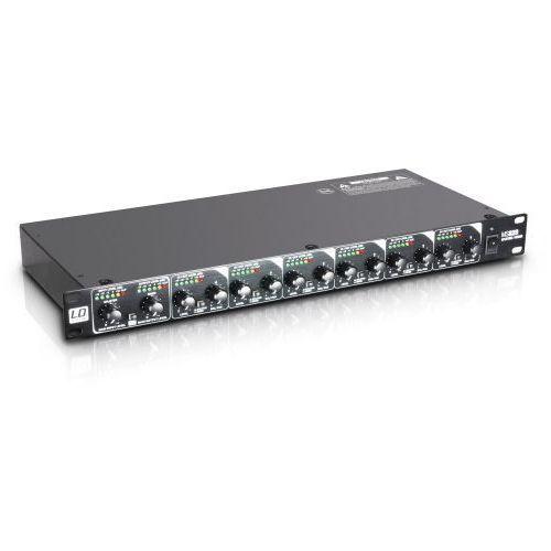 LD Systems MS 828 rozdzielacz / mikser sygnału, rack 19″, 8-kanałowy
