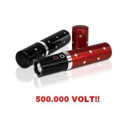 Paralizator Obronny (500 tyś. Volt!!) Ukryty w Flakoniku na Perfumy + Latarka LED (2 kolory)., 8595194733978
