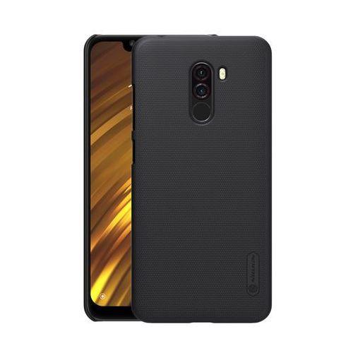 Etui Nillkin Frosted Xiaomi Pocophone F1 - Black - Black, kolor czarny