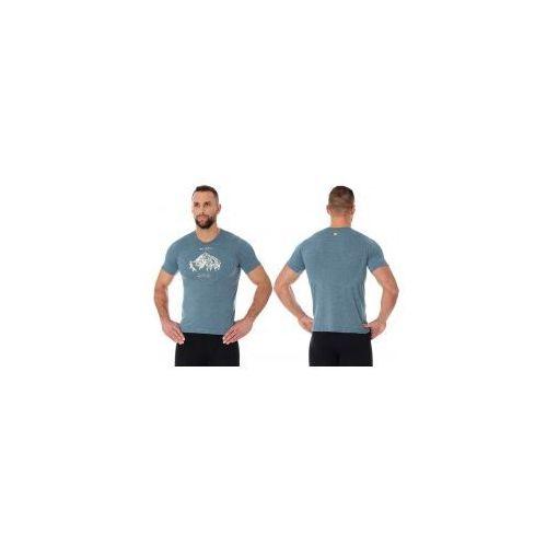 dd8f8fb9d45511 Brubeck koszulka termoaktywna męska outdoor wool (stalowy) (ss12650) 159,99  zł INSPIRED by NATURE. Nieszablonowy skład dzianiny jest powrotem do  prostoty i ...