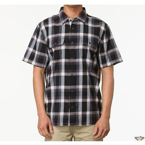 Vans koszula męskie  - Averill - Black / White - VO1JBA2, biała