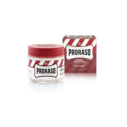 Proraso Red krem do golenia na twardy zarost (With Sandalwood Oil and Shea Butter) 100 ml