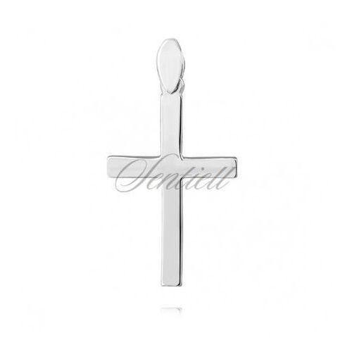 Srebrny (pr.925) krzyżyk - KS0198C, KS0198C