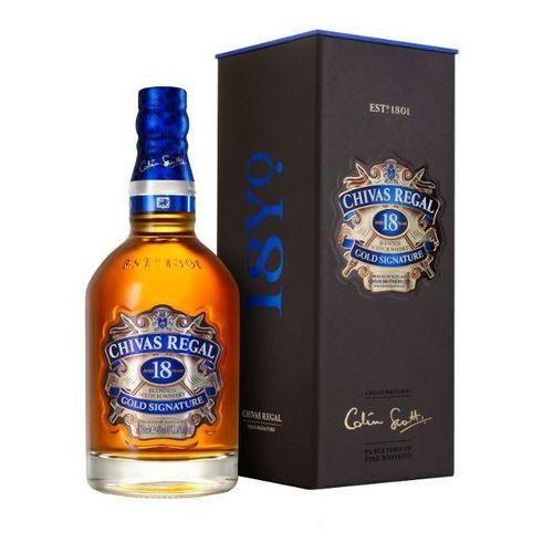 Chivas regal 18 yo scotch whisky gold signature 0,7 l od producenta Chivas brothers