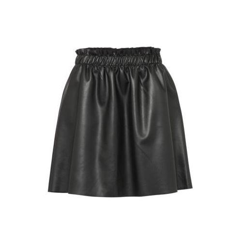 Vila VIEMMA FAUX SKIRT Spódnica trapezowa black, kolor czarny