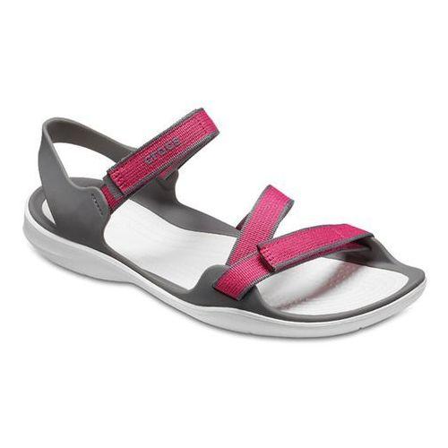 Buty sandały swiftwater 204804 pink - różowy, Crocs