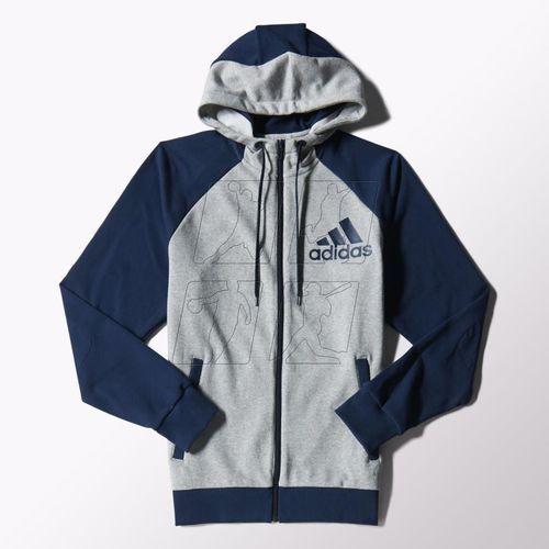 Dres adidas Tracksuit Hooded Jogger M S22112 - produkt z kategorii- dresy męskie komplety