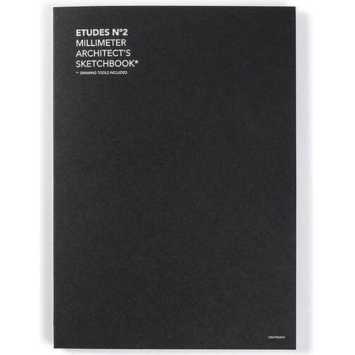Cinqpoints Szkicownik z papierem milimetrowym etudes no. 2 (3760251294906)