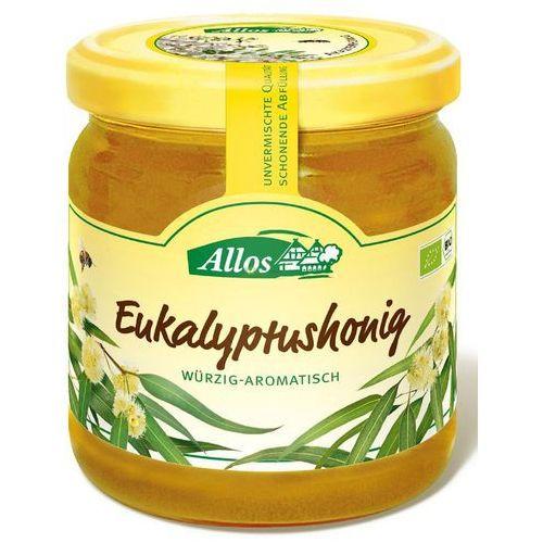 Miód nektarowy eukaliptusowy bio 500 g - allos marki Allos (musy, miody, musli, batony, syropy z agawy