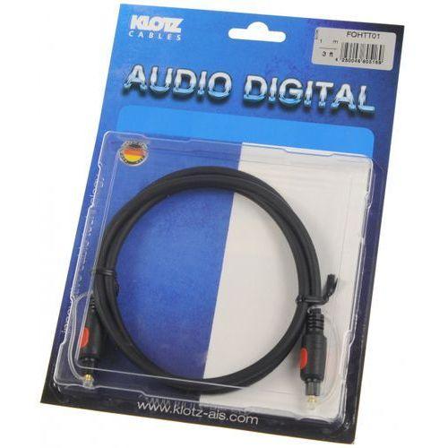 Klotz fo h tt01 1m toslink/toslink kabel