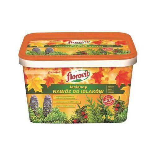 Nawóz jesienny do iglaków Florovit : Pojemność - 4 kg (5900498016390)