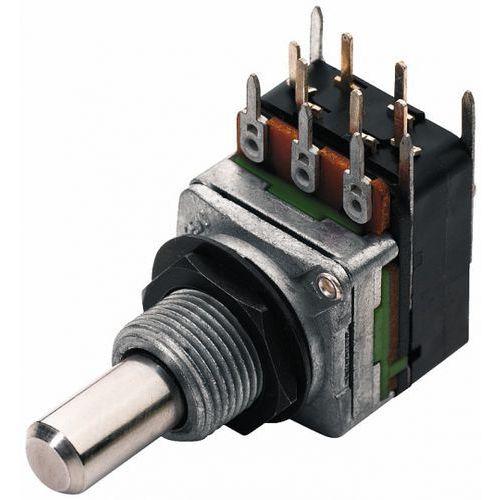 Mec 16 mm potencjometr gitarowy volume - tone mono pull-push a250k poslog
