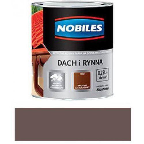 NOBILES DACH I RYNNA-Brąz mahoniowy RAL 8016-5L z kategorii rynny