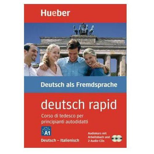 deutsch rapid, Deutsch-Italienisch, 2 Audio-CDs u. Arbeitsbuch