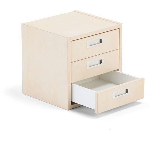 Wkład z szufladami modulus 3 szuflady brzoza marki Aj