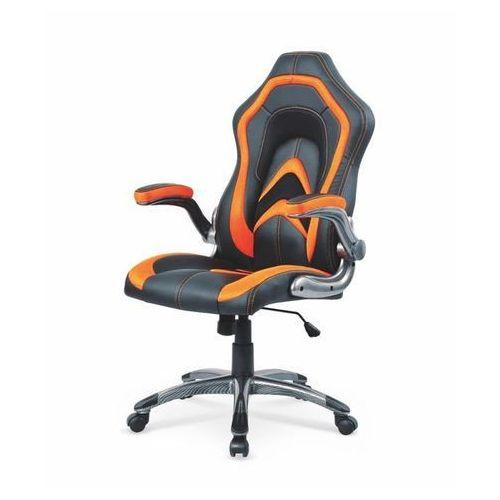 Style furniture Anaconda fotel gamingowy dla graczy czarno-pomarańczowy