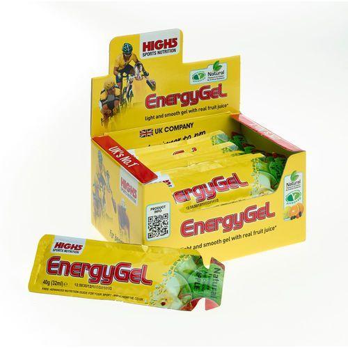 High5 EnergyGel Żywność dla sportowców Summer Apple 20 x 40g 2018 Zestawy i multipaki (5027492997934)