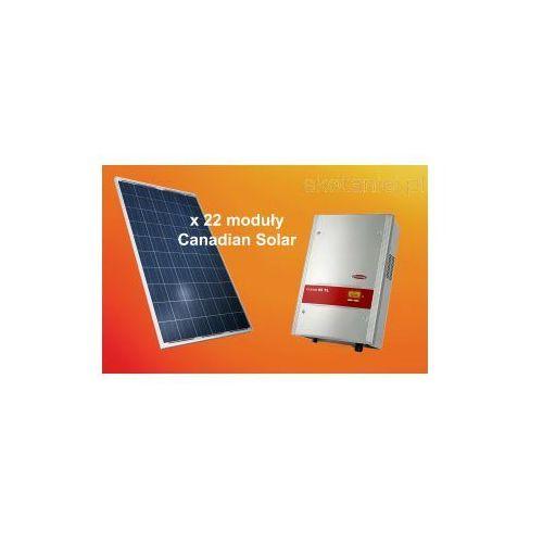 Zestaw ogniw 5.28kW Canadian Solar CS6P-240P + falownik Fronius IG TL 5.0, kup u jednego z partnerów