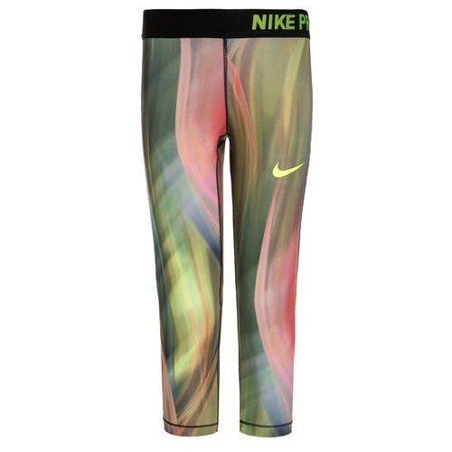 Nike Performance PRO HYPERCOOL Legginsy barely volt/black/volt