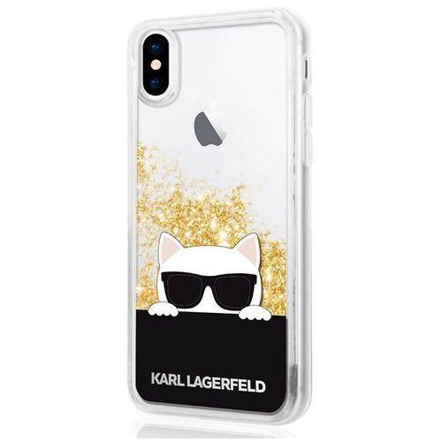 Karl lagerfeld klhcpxchpeego iphone x (złoty) (3700740410394)
