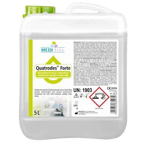 Medisept Quatrodes forte koncentrat dezynfekcyjny do sprzętu medycznego 5 litrów (5907626630039)
