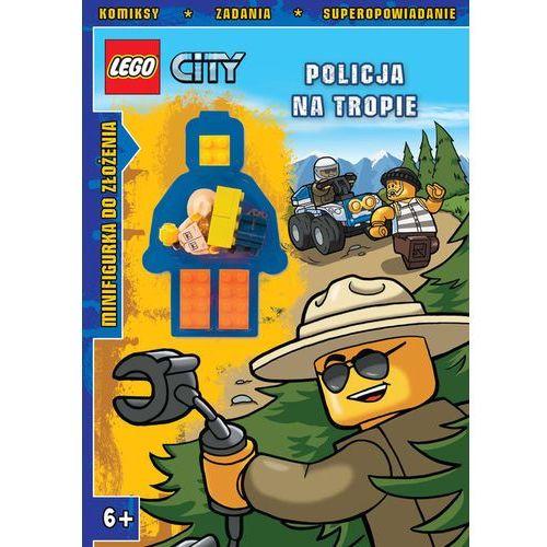 LEGO City. Policja na tropie, książka w oprawie miękkej
