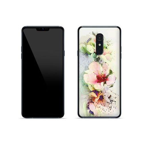 LG G7 Fit - etui na telefon Fantastic Case - róże herbaciane, kolor różowy