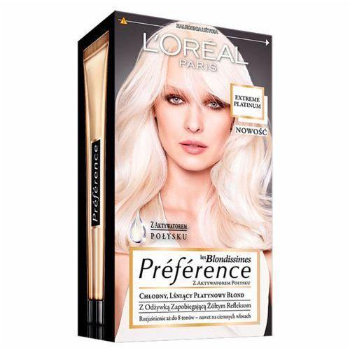 L'OREAL Paris Les Blondissimes Preference farba do wlosow Extreme Platinum ze sklepu Pachniołek.pl