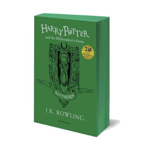 Harry Potter and the Philosopher's Stone - Slytherin Edition (352 str.)