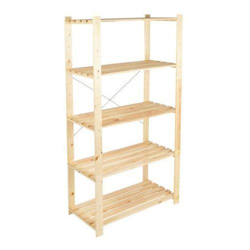 Form Regał drewniany symbios 45 x 90 x 170 cm 50 kg