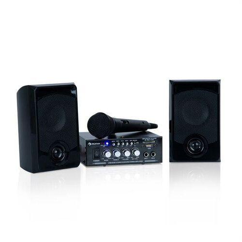 Auna karaoke star 1 zestaw do karaoke 2 x 50w bt usb/sd line-in (4060656101168)