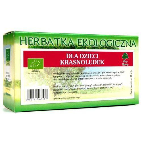 Herbatka dla dzieci krasnoludek bio (20 x 2 g) herbata dary natury marki Dary natury - herbatki bio